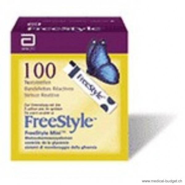 FreeStyle Bandelettes-test glycémie p.à 100