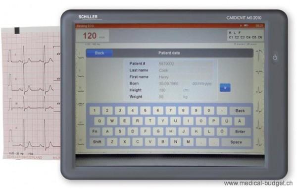 Papier-ECG plié 114mmx20m pour Schiller MS-2010 p.à 1
