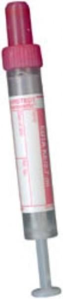 S-Monovette rot/EDTA 2,7ml Hämatologie steril mit Etikette P.à 50