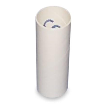 Embouts buccaux en carton pour Adultes, p.à 250 pr spiromètre Labhart 3000/3300 et Peak-Flow-Meter aussi pr spiromètre MS03/MS01, Ø 2,8/3,0 x 6,5cm