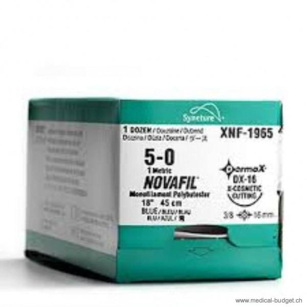 Novafil bleu C-13 4-0 45cm p.à 1 douz
