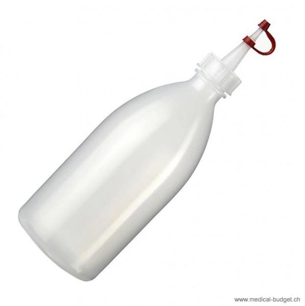 Tropfflasche aus PE mit Tropfspitze und Verschluss 250ml