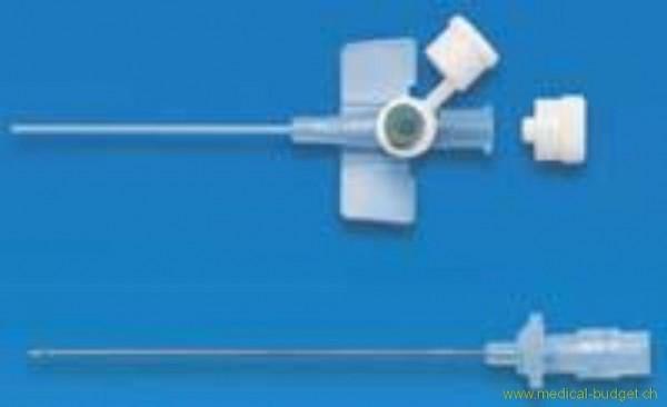 Venflon-2 cathéter vein. 1,2x45mm vert 18G p.à 50