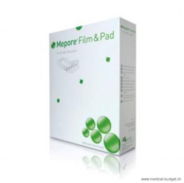 Mepore Film & Pad Pansement vulnéraire 5x7cm ovale p.à 5 pces