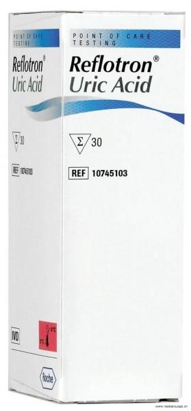 Reflotron Acide urique, 30 tests