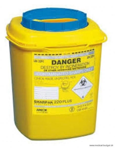 Sharpak Container à déchets 6 litres, par pce