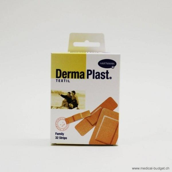 DermaPlast Textil Family htf. Strips ass. 3 Grössen P.à 32