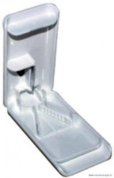 Diviseur de cachets/comprimés blanc