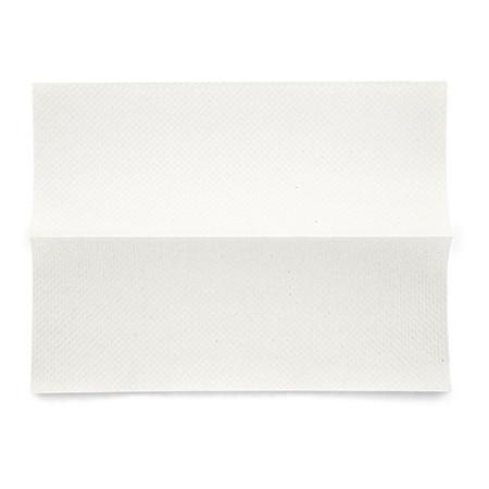 Essuie-mains en papier cellulose blanc, 2 couches, plié en C, 25x9,5/33cm, p.à 24 bottes à 144 pces