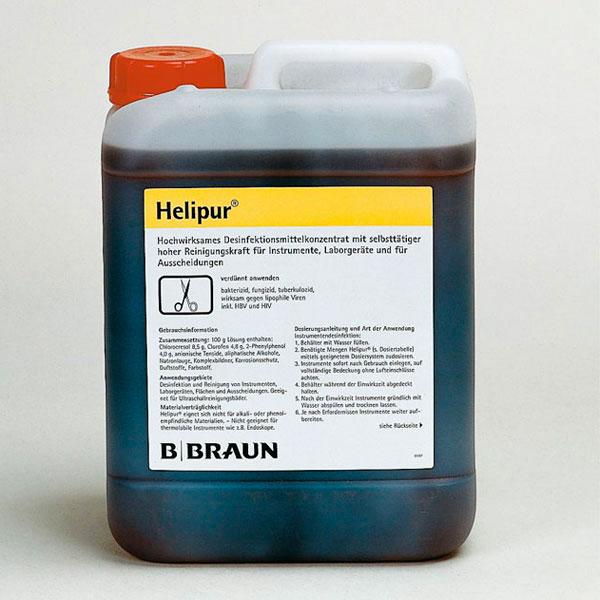 Helipur Desinfektionskonzentrat für Instrumente und Laborgeräte, 5 Liter