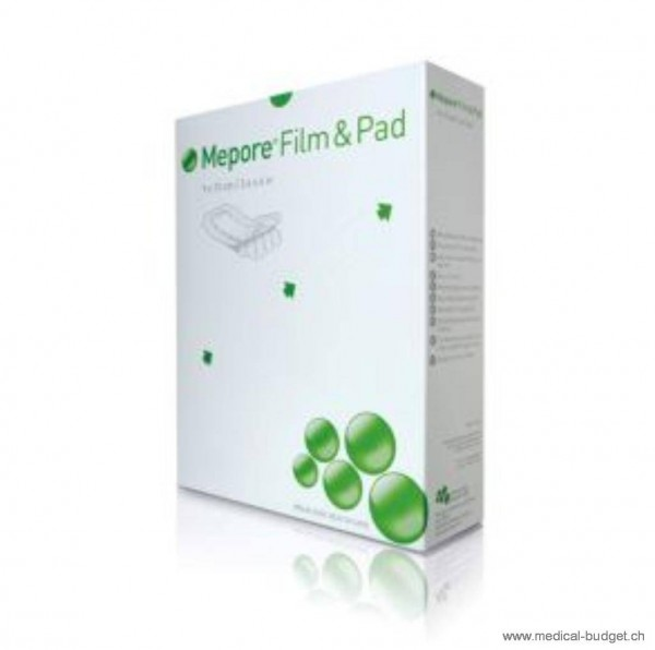Mepore Film & Pad Pansement vulnéraire 9x10cm p.à 30 pces
