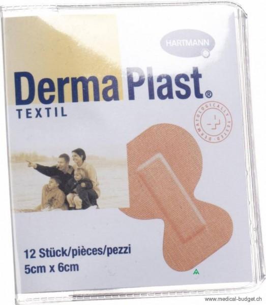 DermaPlast Textil Pansement pour doigts 2x16cm chair p.à 12