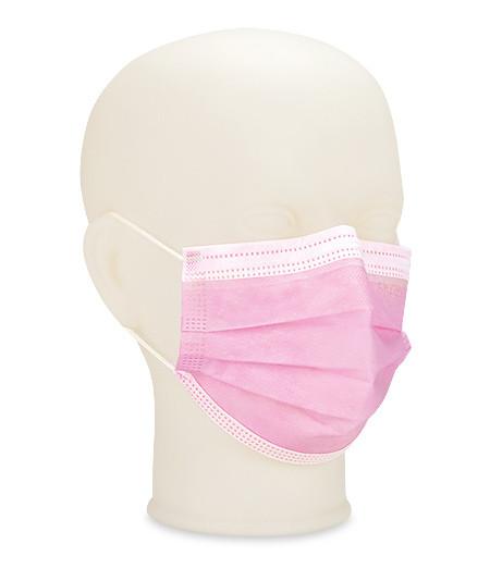 Top Mask Masques-OP type IIR rose avec élastiques pour oreilles sans latex p.à 50