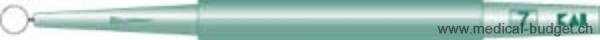 Curettes à anneau KAI 7mm stériles p.à 20 pces
