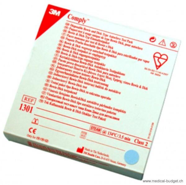 Bowie & Dick Testpaket zur Kontrolle von Dampfsterilisatoren P.à 20x1