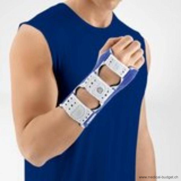 ManuLoc Orthèse d'immobilisation du poignet G/D Gr.1 14-18cm, couleur titane