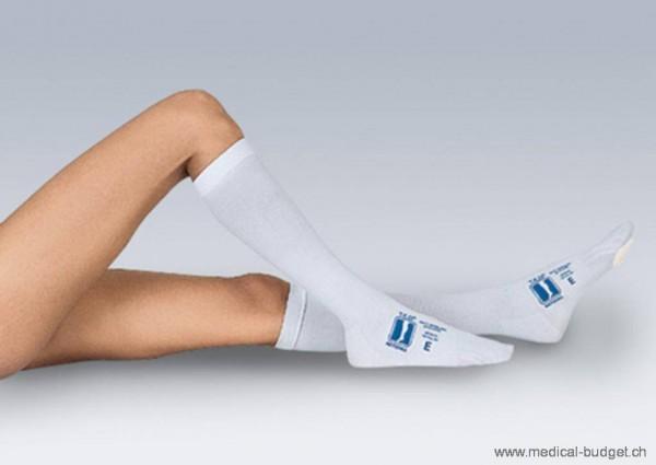 TED Mi-bas médical prophylaxie de thrombose Gr.M mollet 30,5-38cm, long. normale <43cm, blanc 1 paire