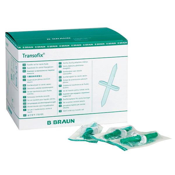 Transofix Set de transfert pour solution stériles avec trocart d'introduction, par pce