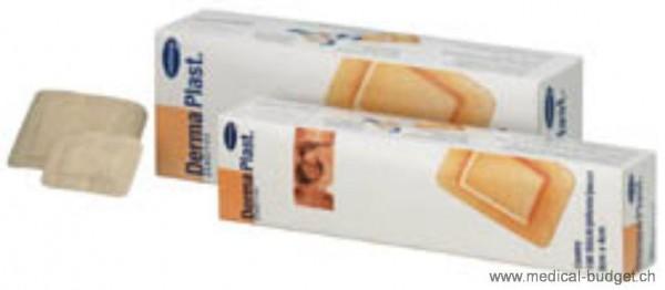 DermaPlast Sensitive Centro Pansement rapide en non tissé chair 4x6cm p.à 100