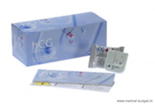 TestPack +Plus hCG Urine avec OBC Test grossesse p.à 20 cassettes-test