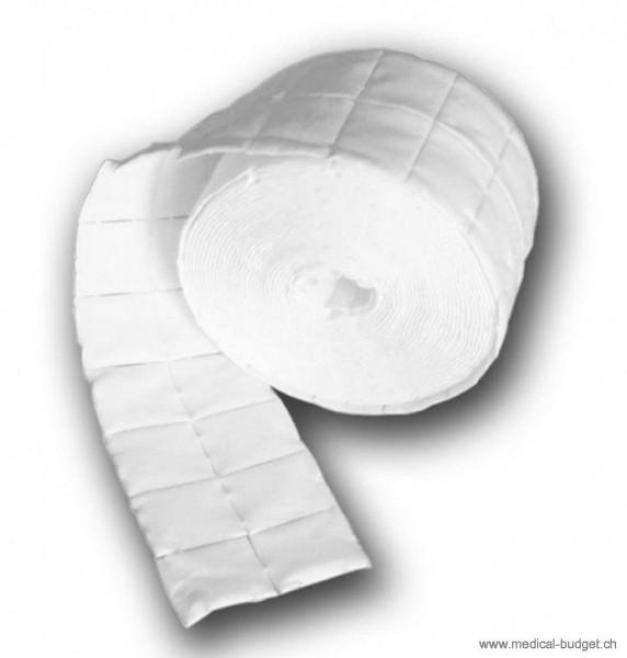 Careline Tampons en cellulose blanc 4x5cm 2 rlx à 500 pces dans sachet-PE