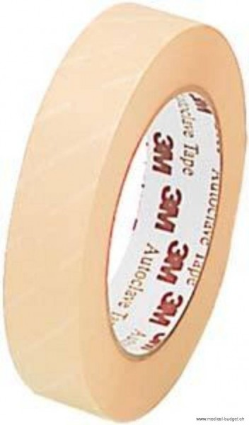 3M Comply Ruban indicateur pr stérilisation vapeur 18mm x 55m tape adhésif, brun 1322-18