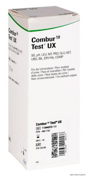 Combur 10 UX Test P.à 100 Str. zu Urilux-S/Urisys 1100
