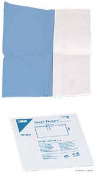Steri-Drape Champ-OP stérile bleu, non-adhésif, 75x90cm p.à 30