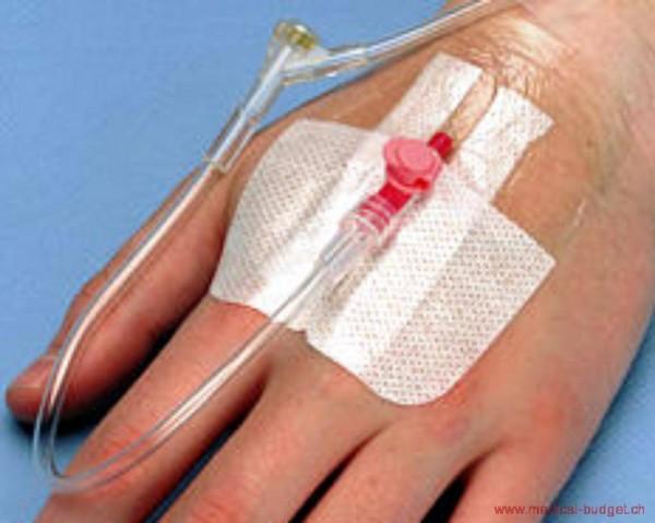 Tegaderm IV 7x8,5cm Pansement transpar. stérile pr fixation des canules et cathéters vein. p.à 100