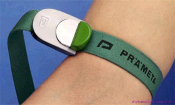 Garrot Prämeta vert nouveau modèle à 2 touches