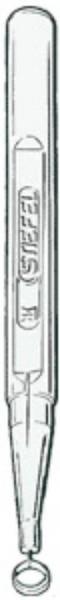 Curette à anneau Stiefel 4mm stérile, p.à 10 pces
