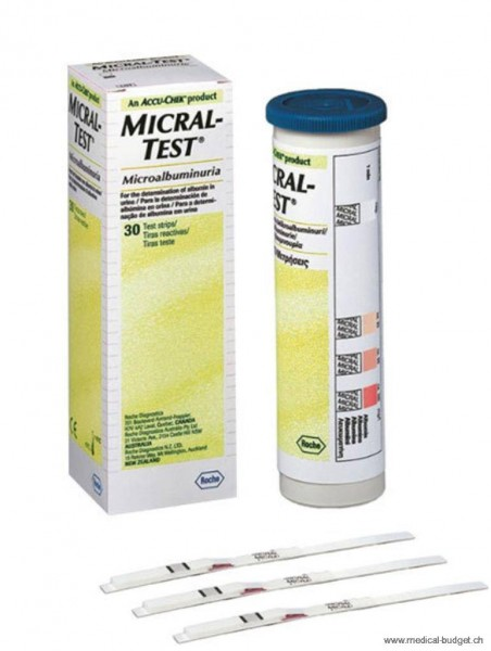 Accu-Chek Micral-Test P.à 30 Streifen