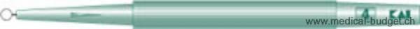 Curettes à anneau KAI 4mm stériles p.à 20 pces