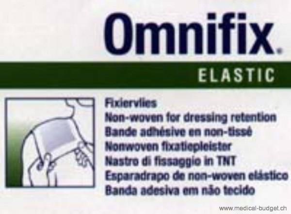Omnifix elastic Pansement de fixation en non-tissé 10cmx10m blanc hypoallergénique, p.à 1 rl