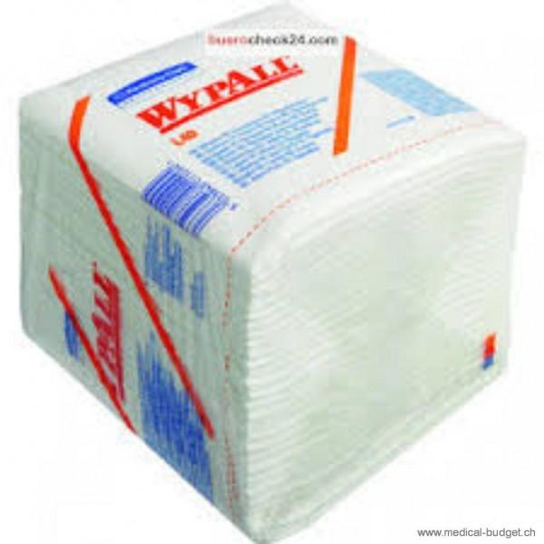 Wypall X70 Serviettes de nettoyage blanc, 33x31,7cm, en non-tissé, p.à 76 pces