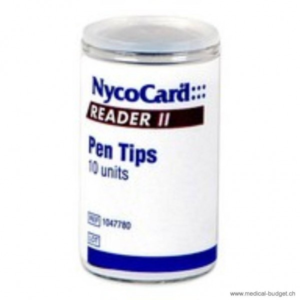 NycoCard Embouts transparents pour Micropipette 5 - 50µl, p.à 100 pces