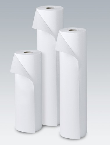 Vala Roll duo, Papier-lit 50cmx50m, p.à 1 rl double-couches, blanc