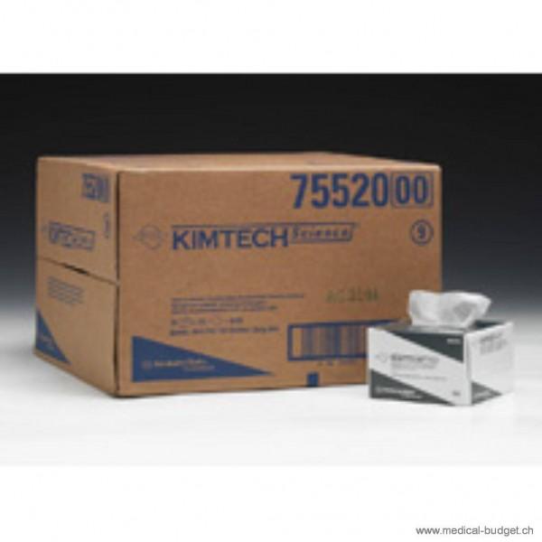 Kimtech Essuyeurs de précision anti-peluche 1 couche, 11x21cm blanc, p.à 280 pces
