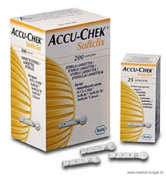 Accu-Chek Softclix Lanzetten P.à 200