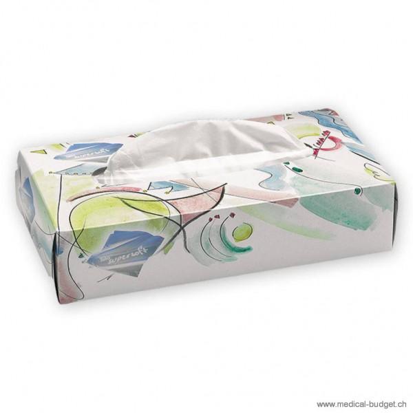 Tela Super Soft Serviettes cosmétiques blanc 21x20,5cm p.à 150 pces