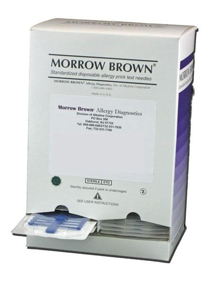 Prick-Test Nadeln Morrow Brown steril P.à 20 (Allergietest)