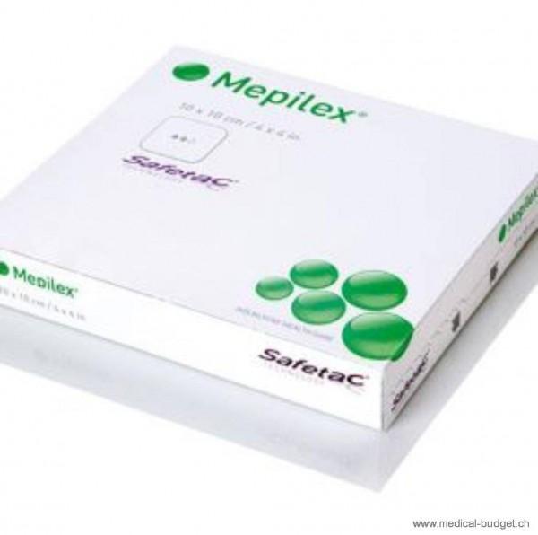 Mepilex Safetac, absorbierender Schaumverband 15x17cm, Pack à 5 Stück