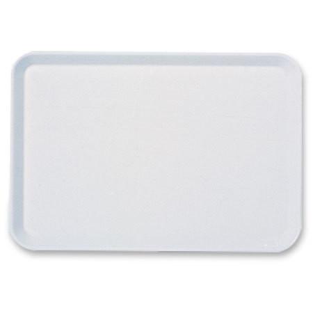 Plateau à instruments en plastique blanc 20x15x2cm