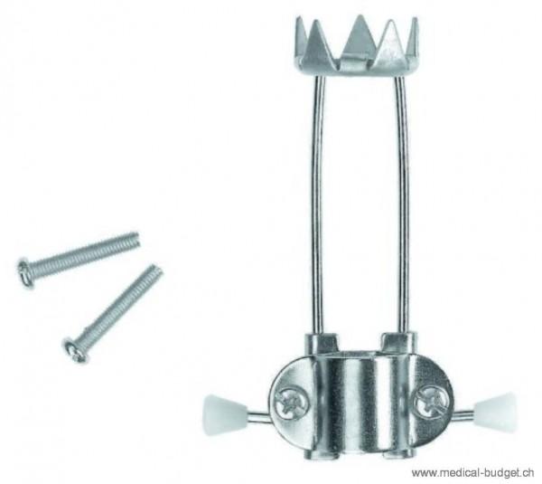 Rebotec Spike (Eiskralle) Krückenkapsel 5 zackig passend zu allen Gehstöcken