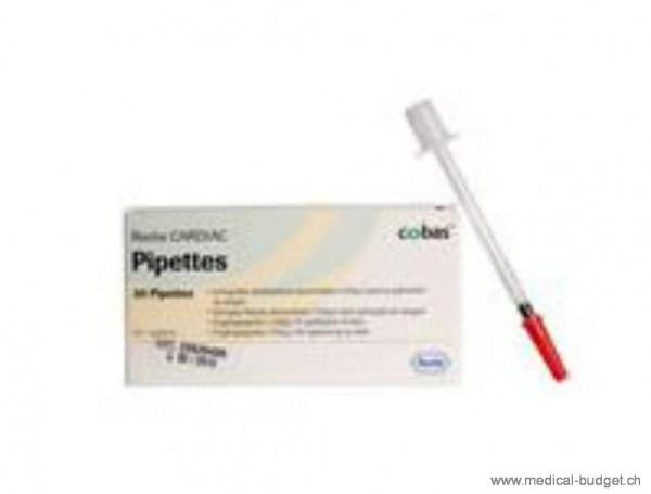 CARDIAC Pipettes 150µl p.à 20 pces (Cardiac reader & cobas h 232)