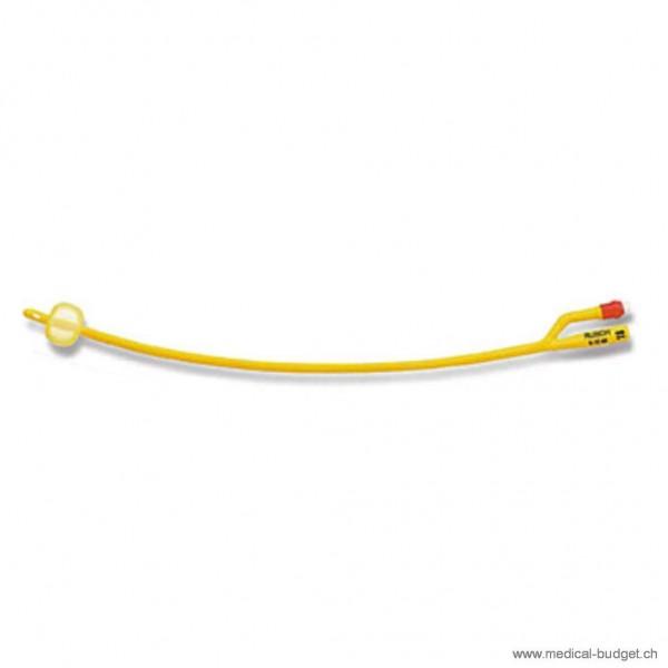Ballonkatheter Rüsch-Gold plus Tiemann Ch.22 5-15ml Silkolatex