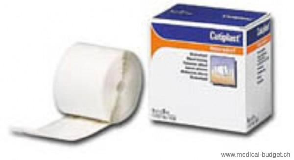 Cutiplast 8cmx5m Pansement vulnéraire en non-tissé blanc, p.à 1 rl
