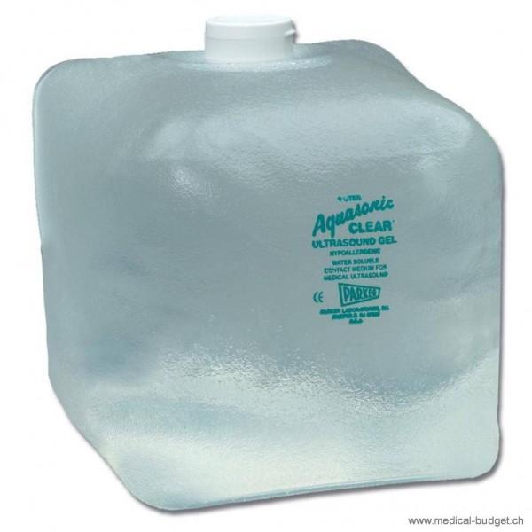 Aquasonic Clear Gel de transmission incolor cubitainer 5 litres