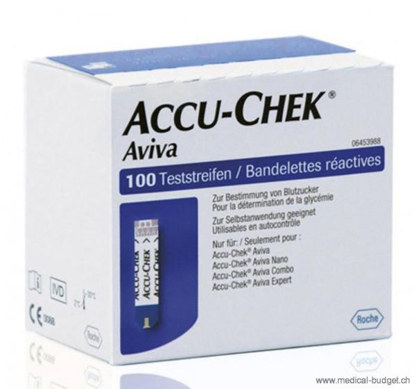 Accu-Chek Aviva Blutzucker Teststreifen P.à 2x50