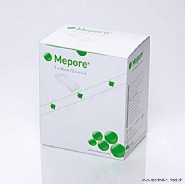 Mepore Pansement rapide absorbant blanc 10x9cm coussinet 6x5cm, emball. individ. stérile, p.à 50